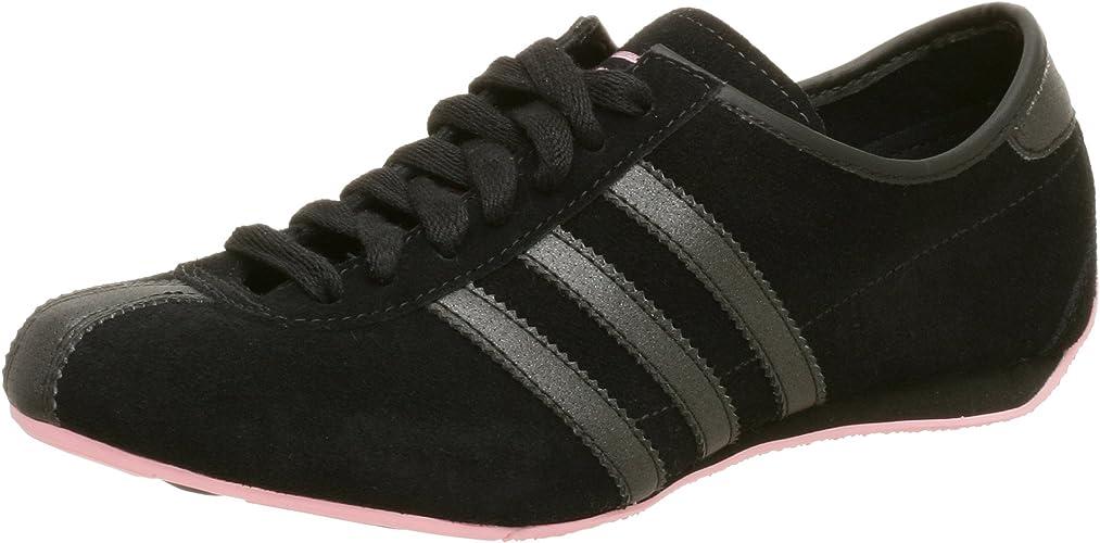 imitar Demonio Médula ósea  adidas Originals Women's Okapi Suede Shoe, Black/Black, 6 M: Amazon.co.uk:  Shoes & Bags