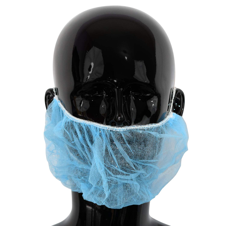Silverline Disposable Beard Net 100pk One Size 356861