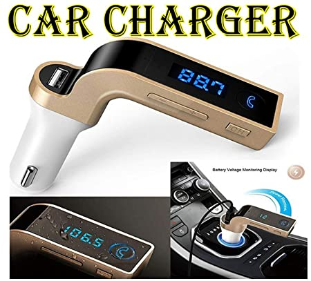 Global Craft Bluetooth Car Kit Handsfree FM Transmitter MP3 Player USB Chargr  Multicolor  Model 168507 Chargers