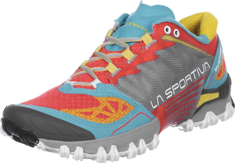 La Sportiva Bushido Woman Coral/Malibu - Deportivos de Running para Mujer, Color Azul, Talla 37.5: Amazon.es: Deportes y aire libre