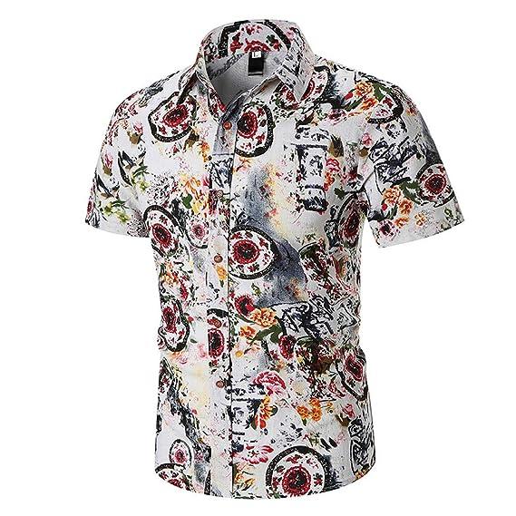POLP Polos Manga Corta Hombre Camisa Manga Corta Hombre Camisa ...