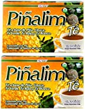 2 Boxes Te Pinalim Tea GN+Vida Weight Loss Tea Diet 60 Day Supply
