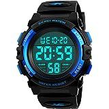 Kids Digital Watch, Boys Sports Waterproof Led...
