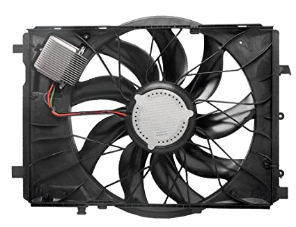 Amazon com: TOPAZ Radiator Cooling Fan fits Mercedes-Benz W212 W204