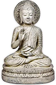"Zen World Buddha Statue, 14"" Buddha for Zen Decor Meditation Decor Buddha Decor"