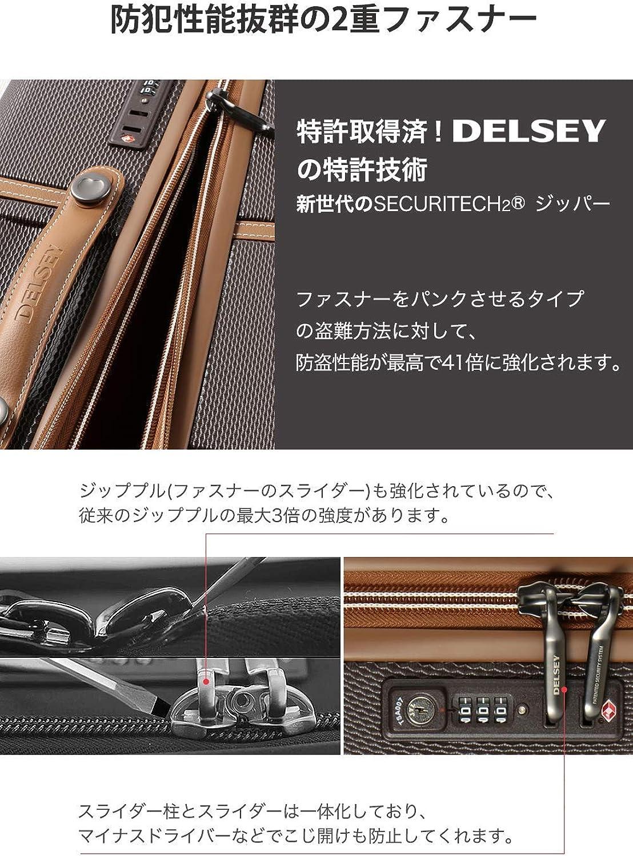 4 doubles roues Jaune DELSEY PARIS CHATELET AIR 77 Cm Valise trolley