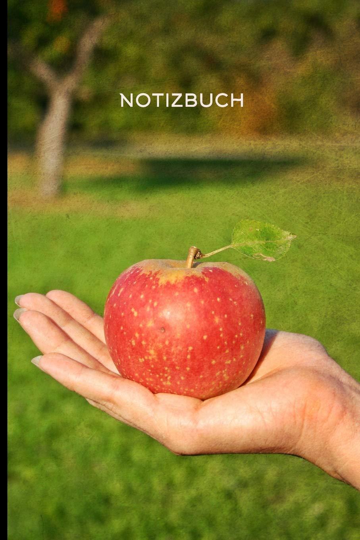 Notizbuch Apfel In Einer Hand Apfel Herbsternte 108 College Lined