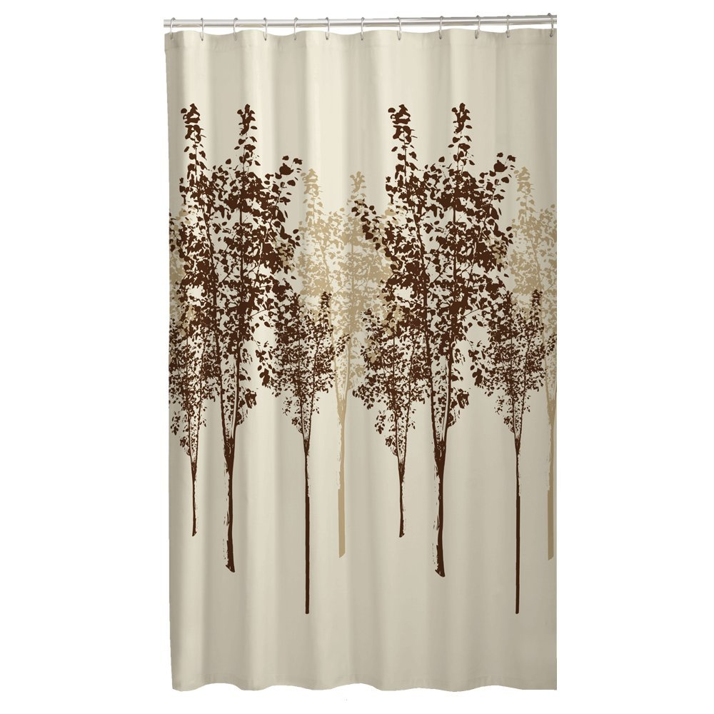 Amazon.com: Maytex Delaney Fabric Shower Curtain: Home & Kitchen