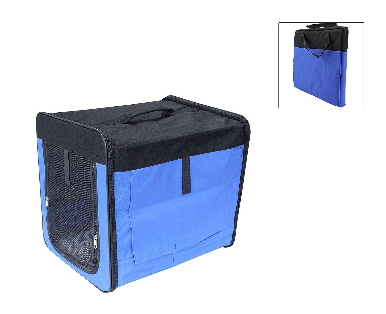 Perro plegable caja de transporte Caja de transporte Auto Perro Gato Caseta Gatos caja: Amazon.es: Productos para mascotas