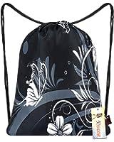 ICOLOR Sackpack Drawstring Bags Polyester Backpack Outdoor Sports Gym Bag Yoga Runner Daypack Team Training Gymsack