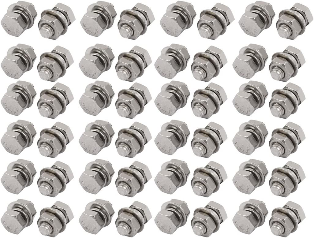 316 Stainless Steel Set Screw Super Corrosion Resistant Thread Size M4-0.7 FastenerParts