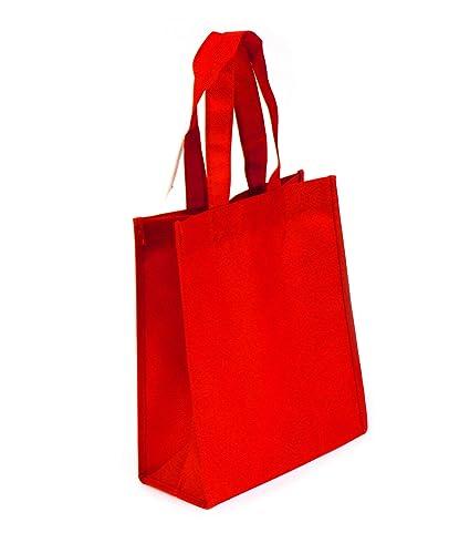 bbf41de5f Amazon.com  Non-woven Reusable Tote Bags