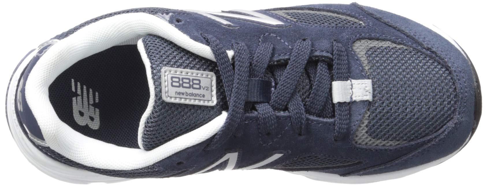 New Balance Boys' 888v2 Running Shoe, Navy/Grey, 2.5 M US Little Kid by New Balance (Image #8)
