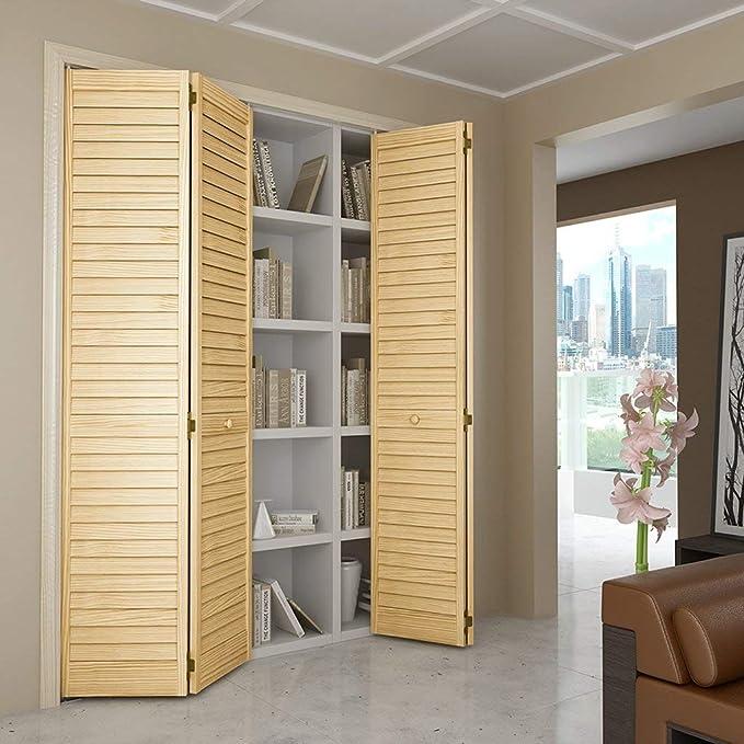 Bi-fold Closet Door, Louver Louver Plantation (30x80)