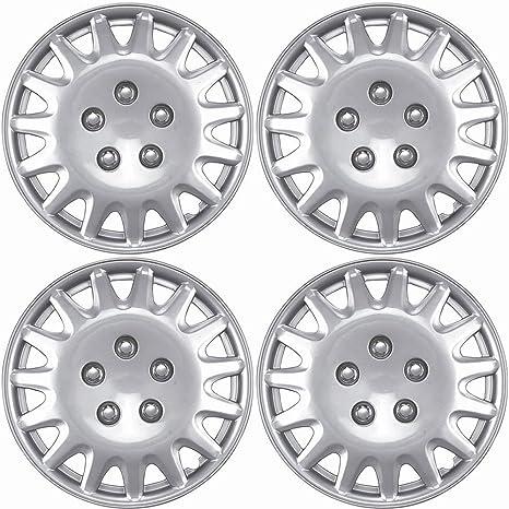 Amazon Com Oxgord Hub Caps For Select Honda Accord Pack Of 4 14