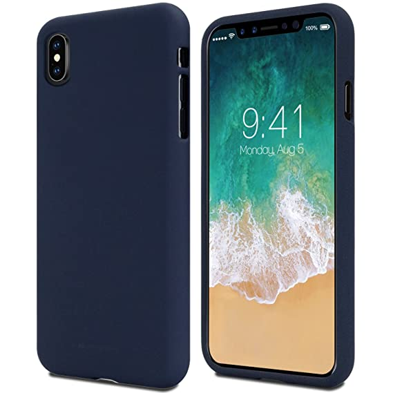 online store 9b214 02408 [Special Price] iPhone X Case, iPhone 10 Case, [Thin Slim] GOOSPERY  [Flexible] Soft Feeling Jelly [Matte Finish] Silky TPU Rubber Liquid Gel  Silicone ...