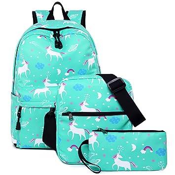Amazon.com: Las niñas mochilas, Libay Estudiante Bookbag ...