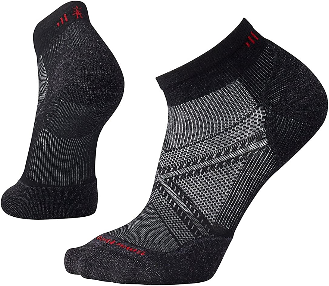 Smartwool Men's PhD Outdoor Light Low Cut Socks Run Elite Wool Performance