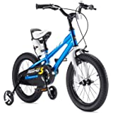 RoyalBaby Boys Girls Kids Bike Freestyle 12 14 16 18 20 Inch Bicycle for 2-9 Years Child's Bicycles With Training Wheels or Kickstand Child Cycle Multiple Colors