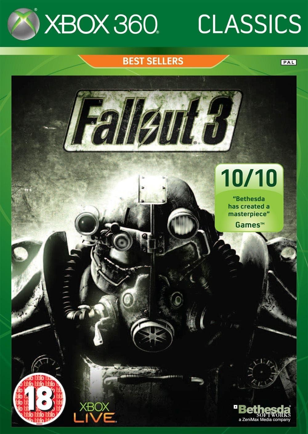 Fallout 3 - Classics Edition (Xbox 360) [Importación inglesa ...