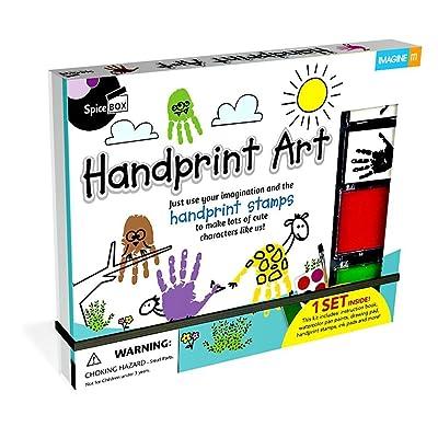 SpiceBox Handprint Art Kit: Toys & Games