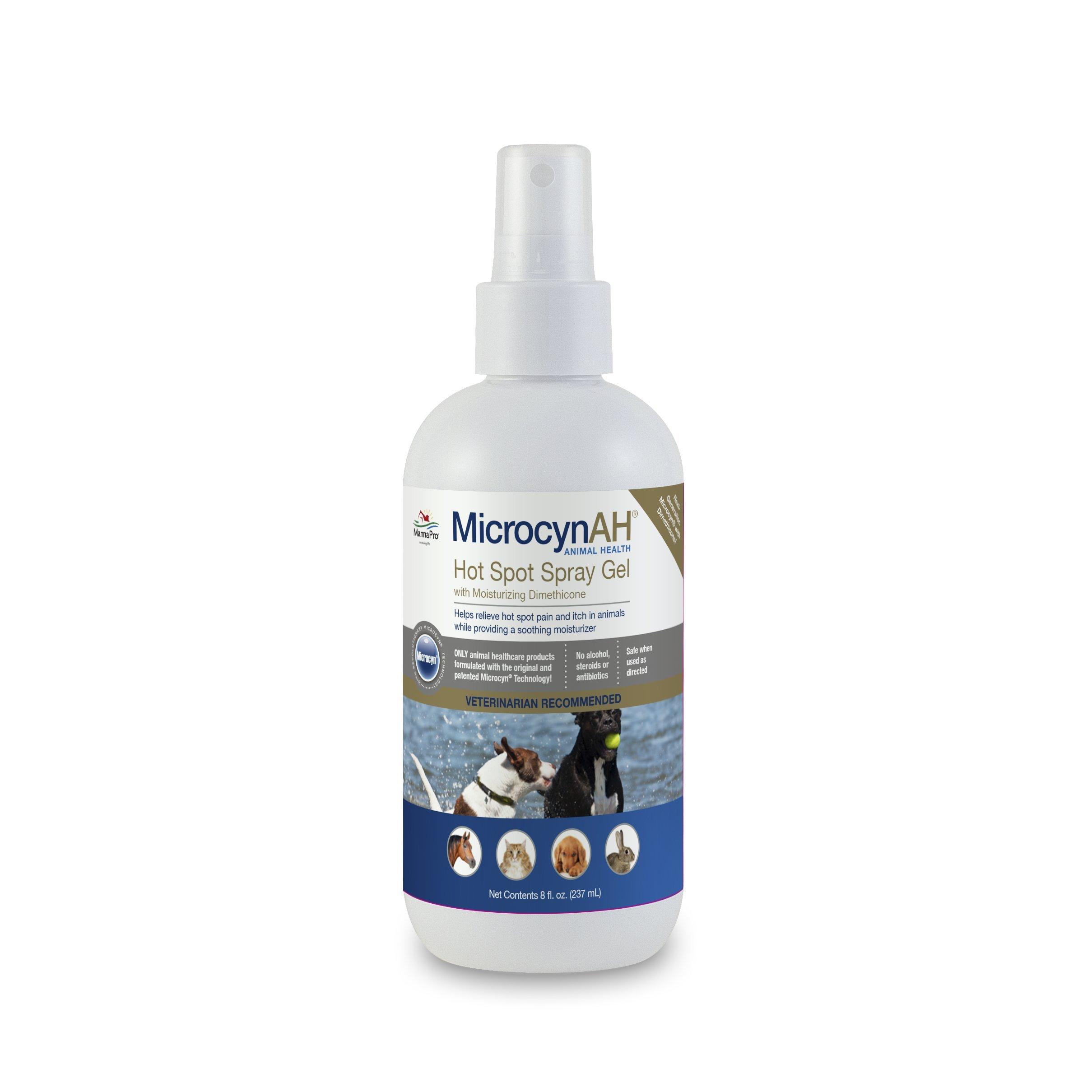 Manna Pro MicrocynAH Hot Spot Hydrogel, 8 oz by Manna Pro