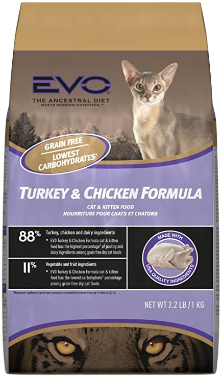 Evo Cat And Kitten Food