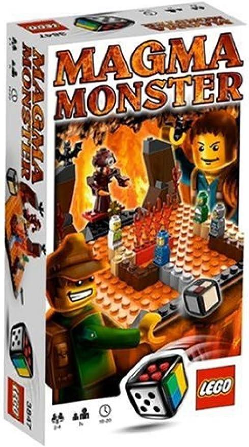 LEGO Juegos 3847 - Monstruo de magma [versión en inglés]: Amazon.es: Juguetes y juegos