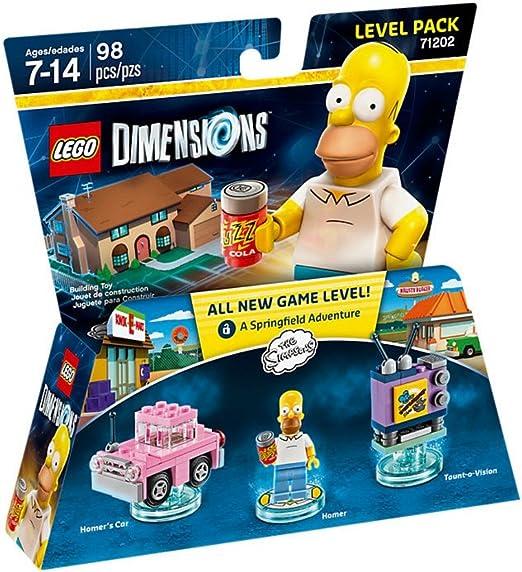 Warner Bros. Interactive Spain (VG) Lego Dimensions - The Simpsons, Homer: Amazon.es: Videojuegos