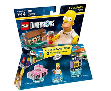 LEGO Dimensions - The Simpsons - Level Pack: Amazon.co.uk: PC ...