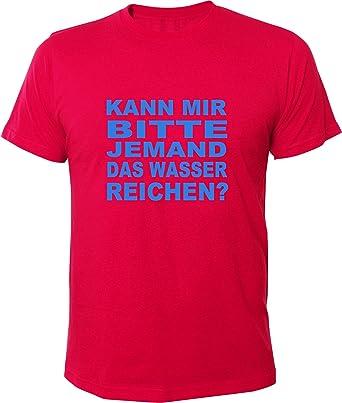 Mister Merchandise Cooles Herren T-Shirt Kann mir bitte jemand das Wasser  reichen? ,