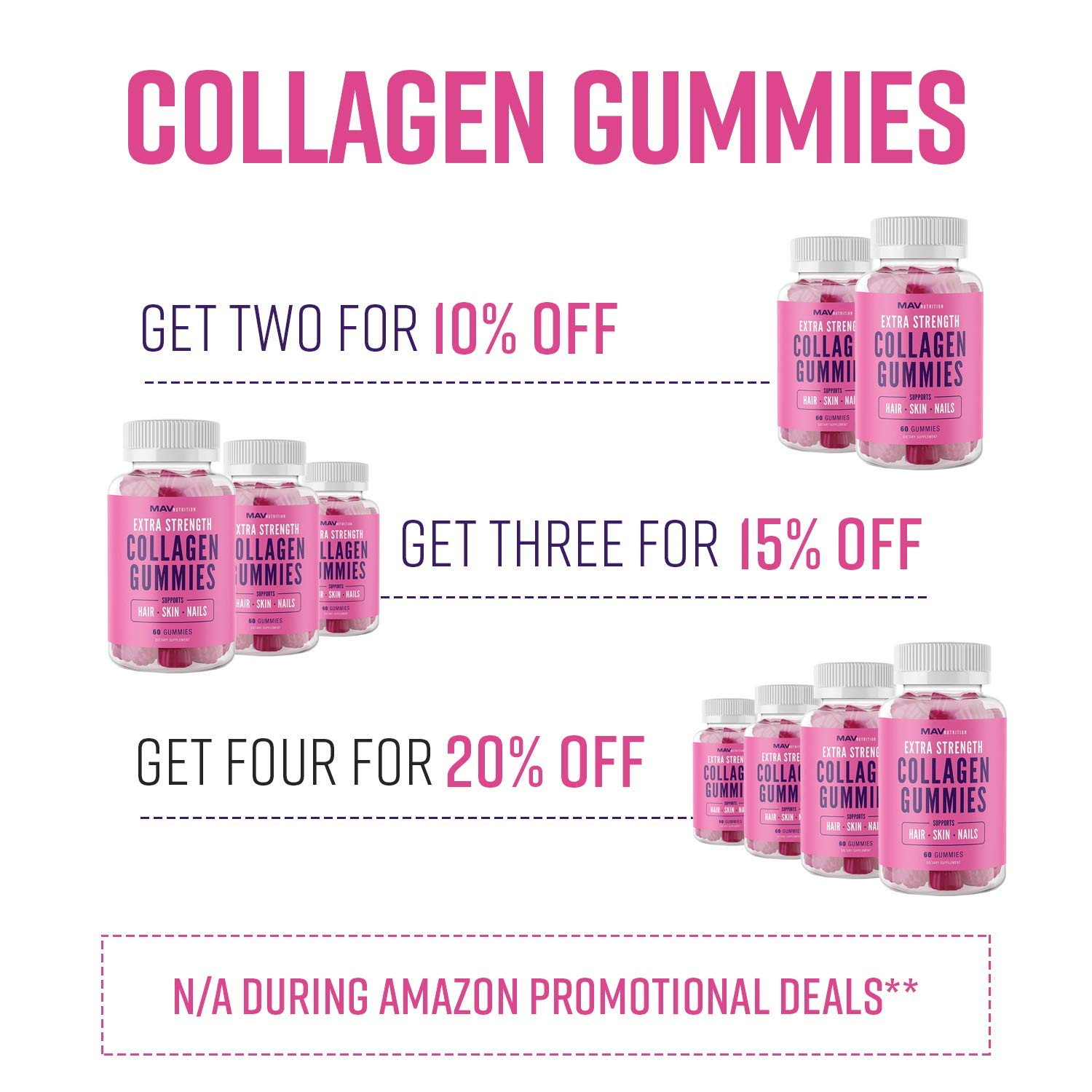 Amazon.com: Collagen Gummies Suplemento para hombres y ...