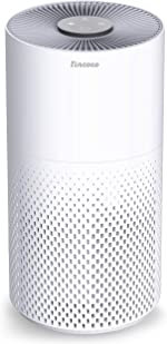 Tincoco Air Purifier for Home Allergies and Pets Hair with H11