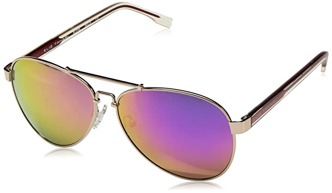 Amazon.com: elie tahari Women s el 210 RGLD Aviator ...