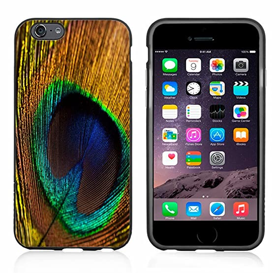 new product 33b9d 227d4 Amazon.com: Peacock Feathers Case/Cover For Iphone 6 or 6S by Atomic ...