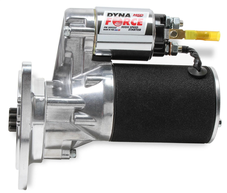 MSD 509223 Blk H//S DynaForce Starter Ford 351M-460