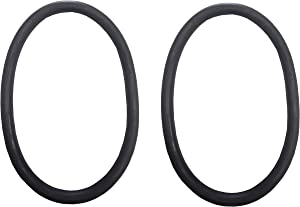 ZVac Replacement Vacuum Belts - Eureka Style RD Round Belts- Replaces Part# 52100- Compatible with Eureka 600, 1400, 1900, 2000, 2100, 4000, 5000, 6400 & 7500 Series Vacuum Cleaners- 2 Pack