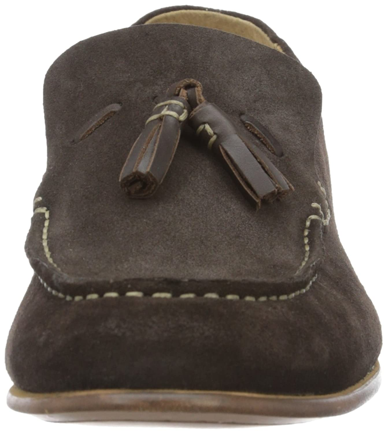 H.D. Hudson Mfg Co. Bernini Suede Brown, Mocassins Homme: : Chaussures et Sacs