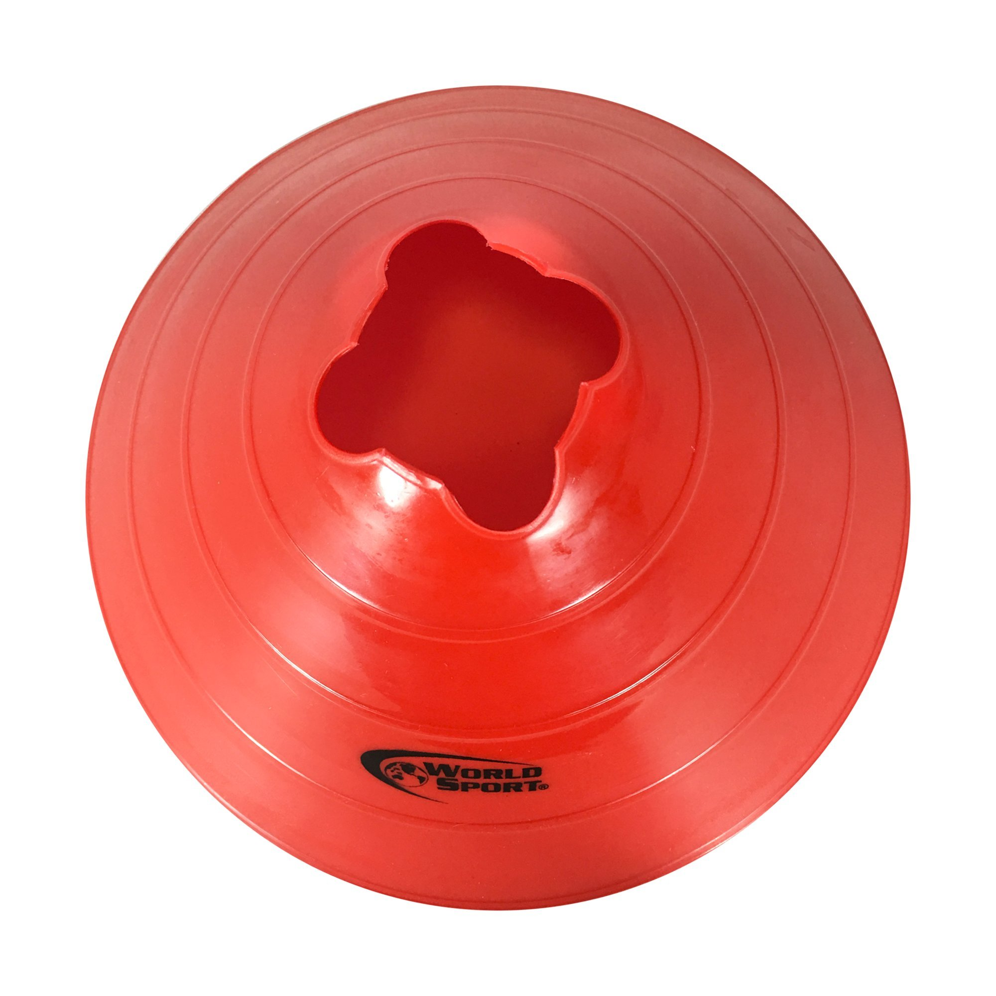 World Sport Large Multi Color (Red White Blue) Disc Cones by World Sport (Image #3)