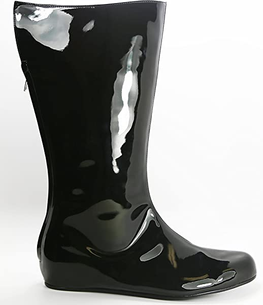 a5c02e1ae00 Amazon.com | Jade Footwear Women Patent Leather Flat Boots | Boots