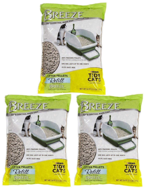 Tidy Cats Breeze Cat Litter Pellets - 3.5 lb