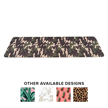 Lightweight Designer Yoga Mat with Carrying Strap Eco Friendly TPE Workout Fitness Mat Double Layer Non Toxic Recyclable Exercise Mats Perfect for ...