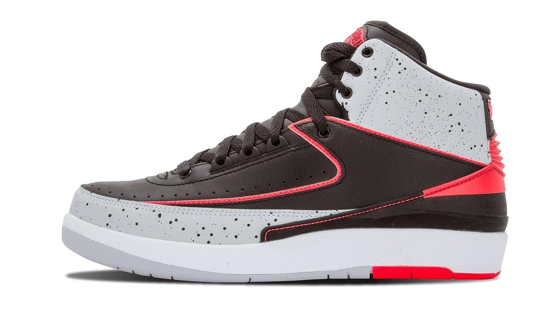 46f121d56ad9 Nike air jordan 2 retro mens hi top basketball trainers 385475 sneakers  shoes jumpman23 (uk 8.5 us 9.5 eu 43