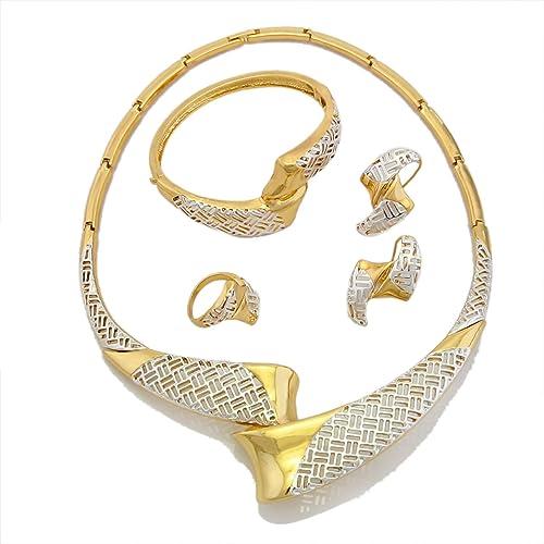 Amazon.com: Conjuntos de joyas de boda para novias collares ...