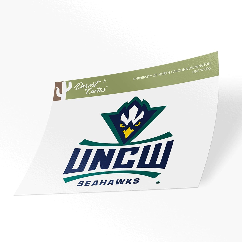 University of North Carolina Wilmington UNCW Seahawks NCAA Vinyl Decal Laptop Water Bottle Car Scrapbook (Sticker - 006)
