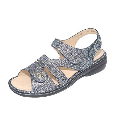 7d30fe00b72 Amazon.com | Finn Comfort Women's Gomera-S Argento Doyle Sandal | Sandals