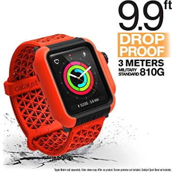 Catalyst for 42mm Apple Watch Series 3 & Series 2 – Drop Proof Shock Proof Impact Protection Apple Watch Case [Rugged iWatch Protective Case], Sunset