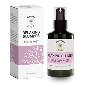 All Natural Pillow Spray for Better Sleeping - Aromatherapy Lavender Antibacterial Mist for Acne and Linen Fabric Refresher with Essential Oil - Formulated in San Francisco