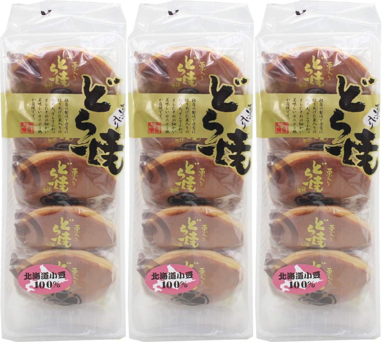 Kuriiri Dorayaki 12.5oz/355g (3 Pack) by Kotobuki