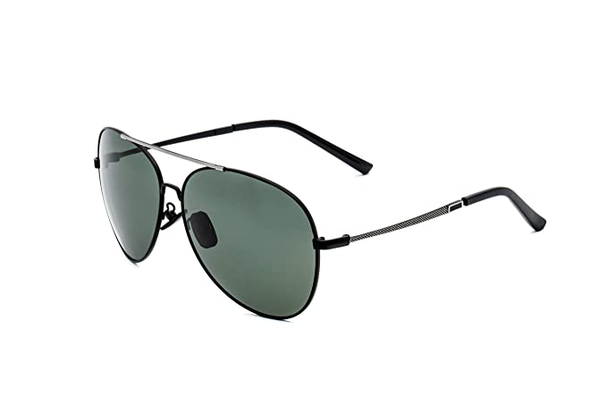 CHB Aviado Gafas de Sol Ligeras Con Estuche de Gafas Polarizadas Hombres Para Hacer Ejercicior Protección